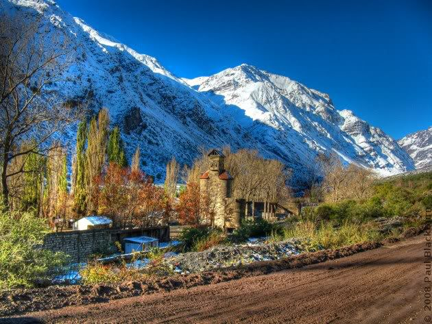 Cajon del Maipo Santiago Chile