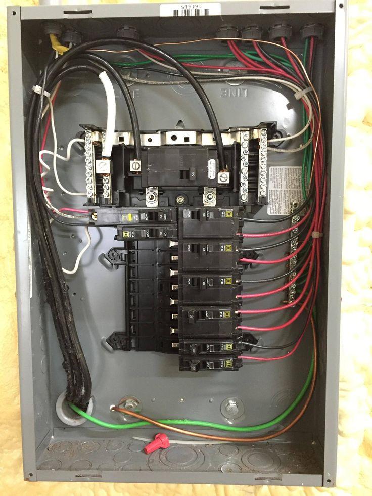 New Home Panel Wiring Diagram  Diagram  Diagramsample