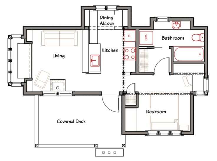 elegant simple floor plans for a small house on floor with house plans ross chapin - Custom Small Home Plans