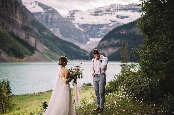 Rebecca and Reid's Canadian elopement at Lake Louise is filled with natural eye candy only Banff National Park can provide. Luckily, the pair enlisted the
