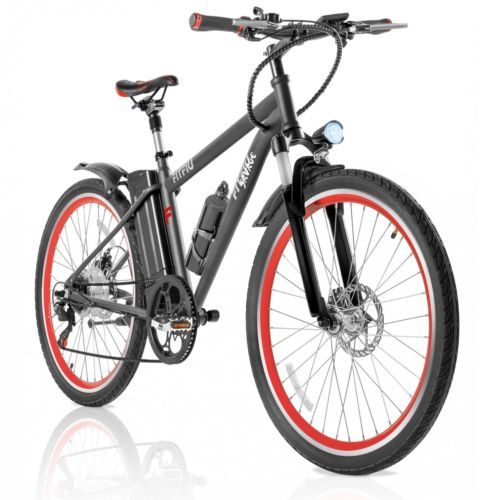 Bicicleta eléctrica cambio Shimano litio 36V 250W