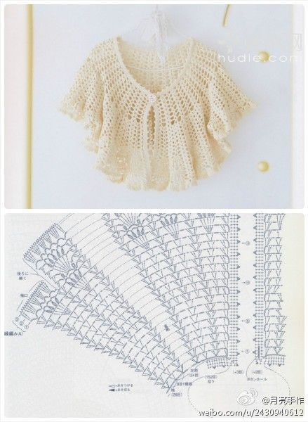 Pattern for crochet top