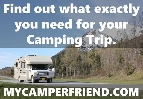 Find out what exactly you need for your Camping Trip. Instant Tents and Pop Up Tents. MyCamperFriend.com offers the best Camping Advice for Newbies and experienced Campers. Everything a RV or Tent Camper needs for a stress-free Camping Trip: Camping Accessories, RV Accessories, Camping Gear, Camping Equipment, RV Parts, Camping Tips, RV Tips, Camping Checklists, RV Checklists, Camping Advice #campingequipment