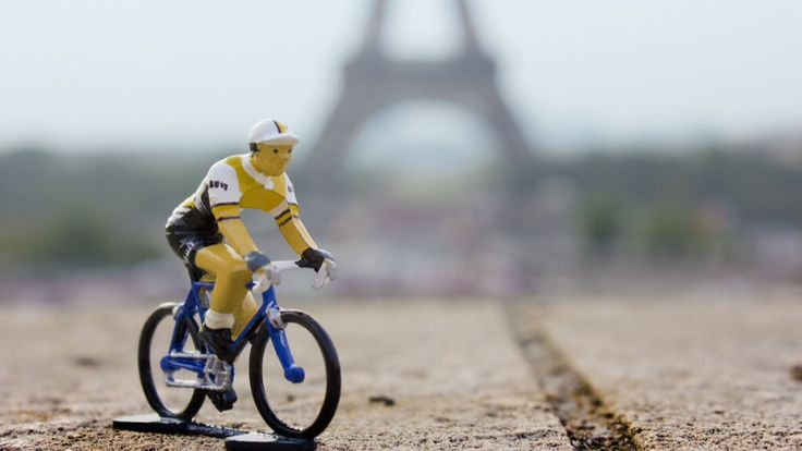 Renault-Elf cycling figurine. Hand painted in a 12 stage process in France, each one is a little collectible work of art. Strictly limited to 500 units world wide. Available at www.bicycleage.com