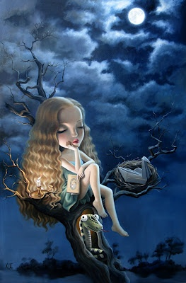 I don't really like this piece, i just adore the lighting - Xue Wang  Pop Surrealism
