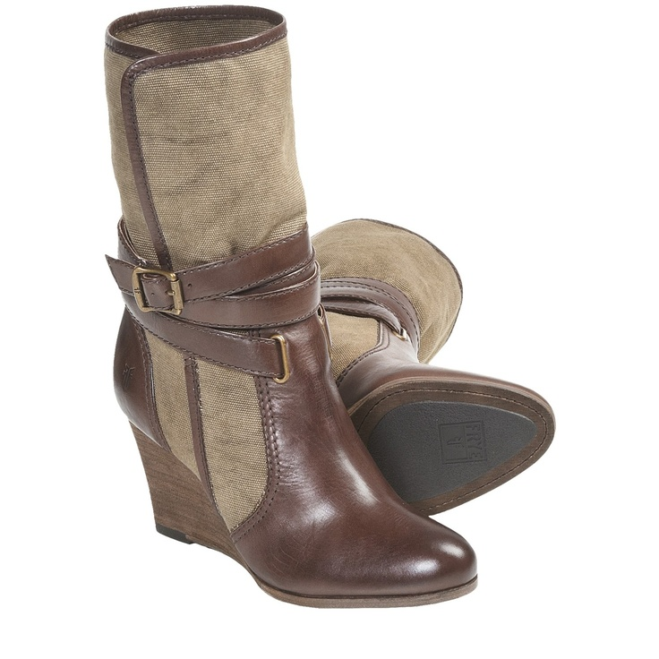 Frye Corby Strappy Boots