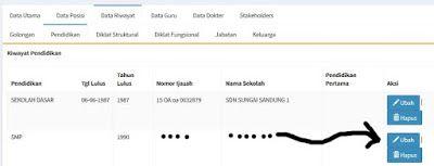 Nove Hasanah: PUPNS Cara Menambahkan Data Riwayat Pendidikan