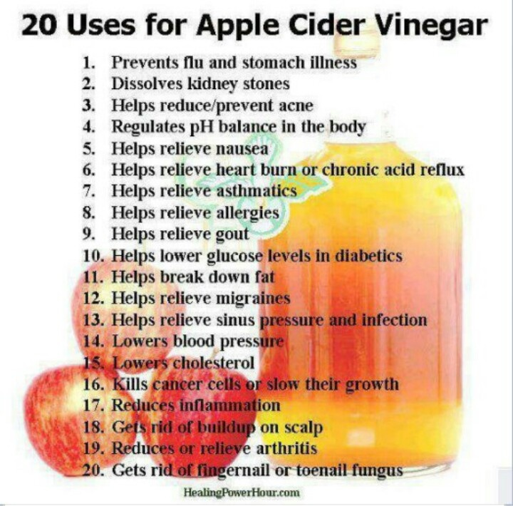 Benefits of Apple Cider Vinegar | Good words | Pinterest