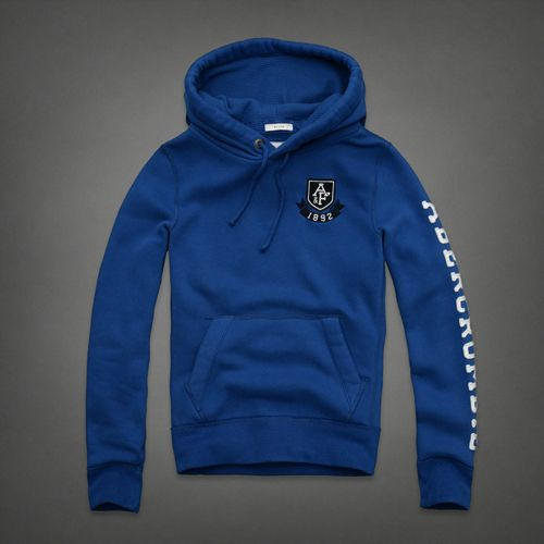 Abercrombie And Fitch Mens Hoodies Blue Dublin