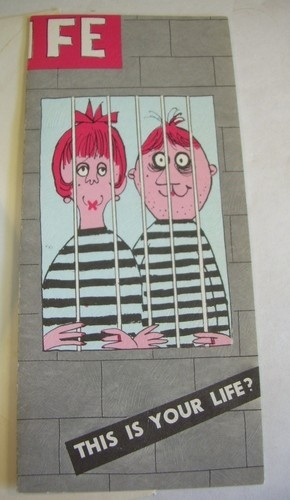 1957 Vintage Greeting Card Happy Anniversery Husband Wife Married Couple in Jail   eBay