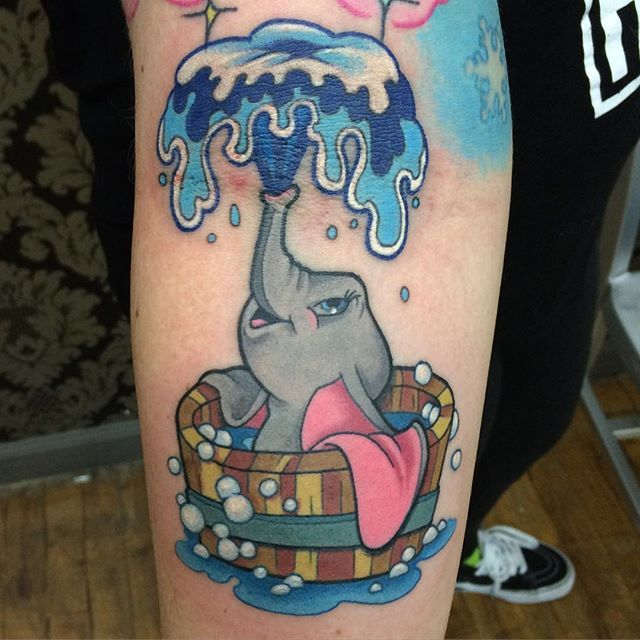 Adorable tattoo by Jessica V...