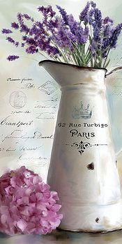 Paris Bouquet 2 by Carol Robinson