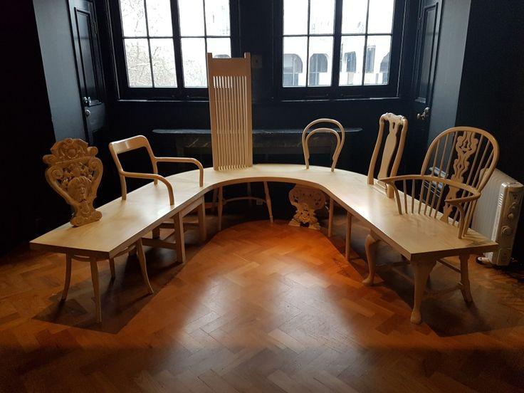 Chair Bench by Gitta Gschwendtner / 2012