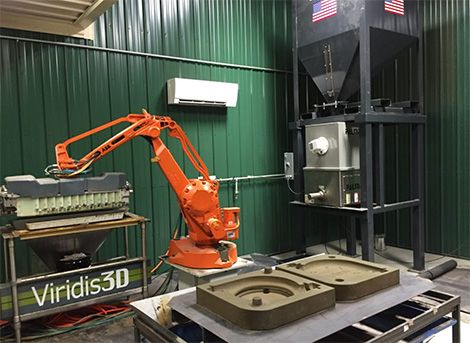 DEVELOP3D blog - Envisiontec's sand casting 3D printer utilises robotic automation  ||   Automation for 3D printing has taken another step with EnvisionTec getting in on the act… http://www.develop3d.com/blog/2017/09/envisiontecs-sand-casting-3d-printer-utilises-robotic-automation?utm_campaign=crowdfire&utm_content=crowdfire&utm_medium=social&utm_source=pinterest