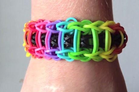 Мастер-класс по плетению браслетов из резиночек