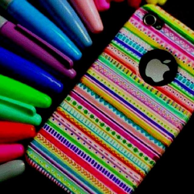 sharpie designed iphone case diy pinterest cases On sharpie phone case