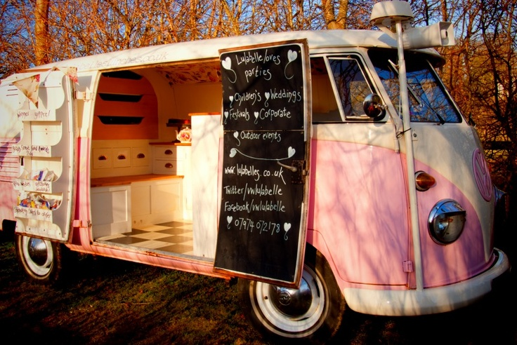 If you have a campervan obsession, here's how you can make it pay >The Cool Campervan And Caravan Food Revolution - click the image for more.