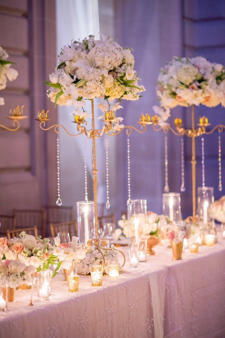 Featured Photographer: Vero Suh; wedding reception centerpiece idea, click to see more