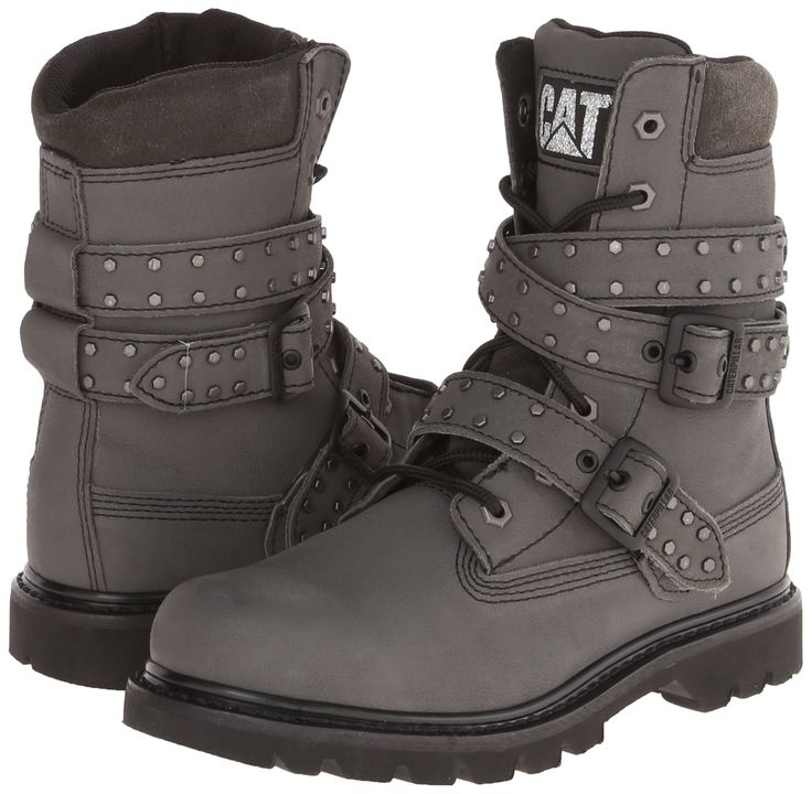 Cat Footwear Womens Double Agent Combat Boots TB_7589