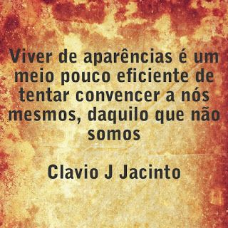 Pr C. J. Jacinto: Aparencias Enganam