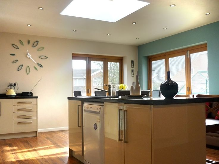 Kitchen Extension with Flat Roof Velux Rooflight & 13 best Flat Roof Windows images on Pinterest | Roof window ... memphite.com