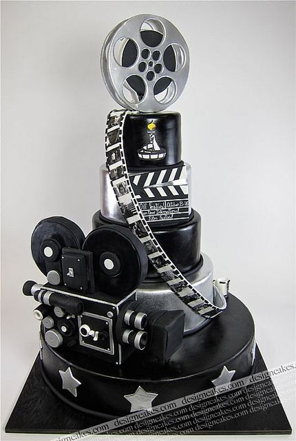 Movie cake by Design Cakes, via Flickr