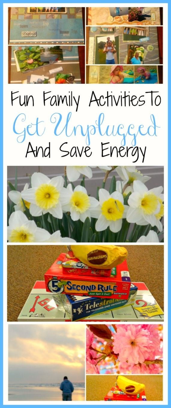 Fun Family Activities To Get Unplugged And Save Energy  #Ad #PPLPowerHour