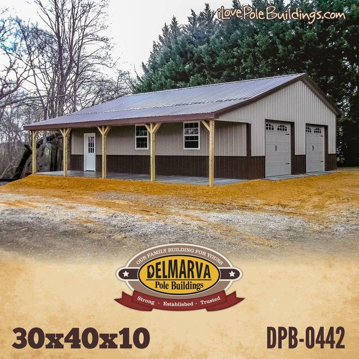 Country Houseplans: Barn Garage Plans, Pole Barn