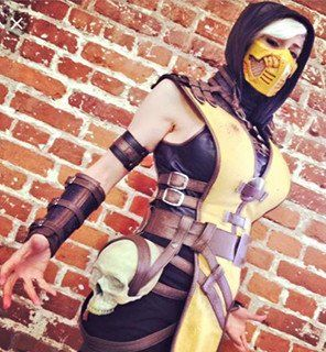 Deferred payment plan for female Mortal Kombat Scorpion cosplay costum – Partytask Boutique