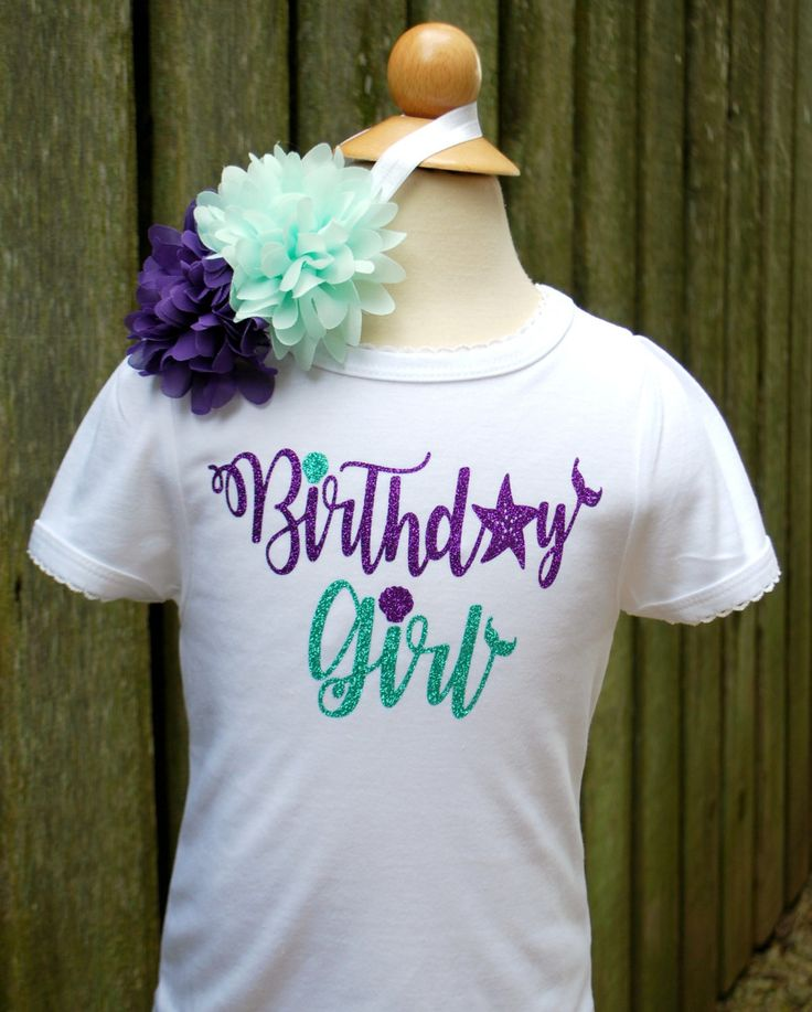 Under The Sea Birthday Shirt - 1st Birthday Girl Outfit - Girls Nautical Birthday - Under The Sea Party - Birthday Girl Shirt - Mermaid