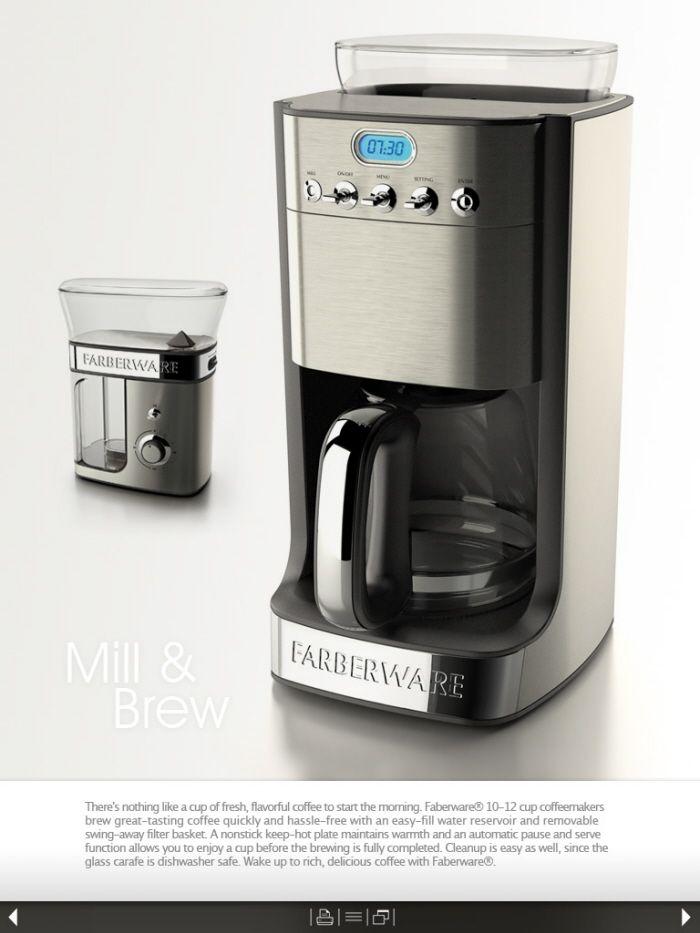 Farberware Coffee Maker by Hugo Cailleton at Coroflot.com
