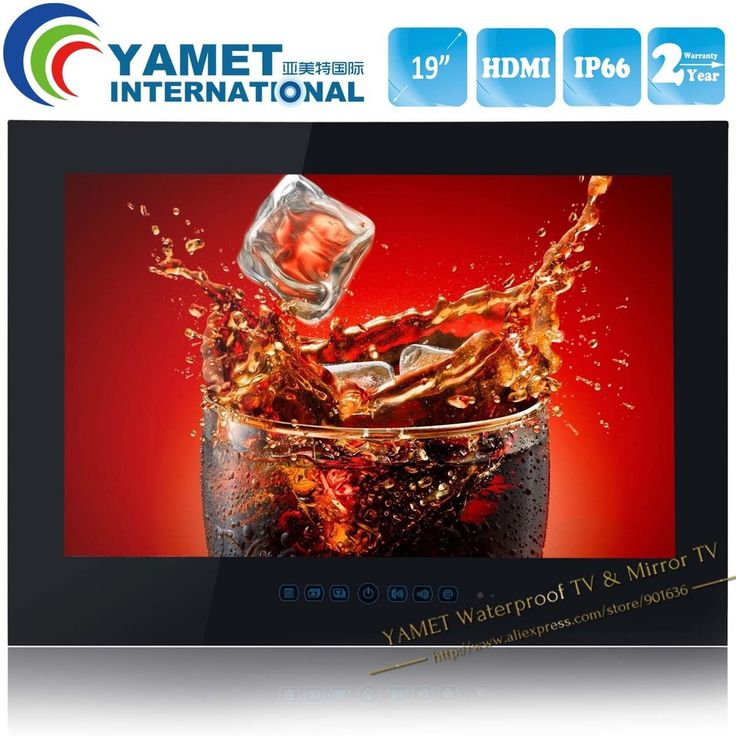 436.99$  Watch now - http://alil14.worldwells.pw/go.php?t=527309202 - Free Shipping YAMET 19 inch IP66 Waterproof Bathroom LED TV