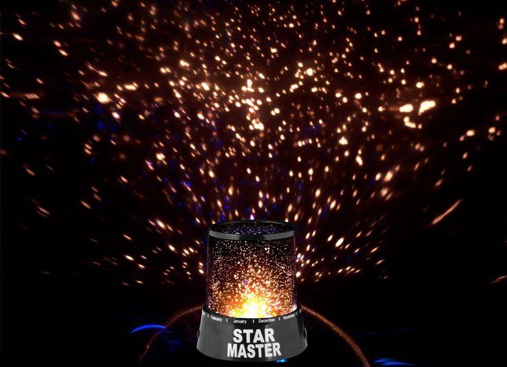 Proiector de stele - Mindblower Un gadget care iti aduce bucuria de a privi stelele la tine acasa. Cadouri inedite, pe Mindblower.ro