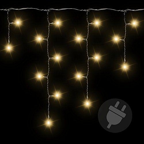 144er LED Lichterkette Eisregen Eiszapfen warm weiß Außen Weihnachtsbeleuchtung Nipach GmbH http://www.amazon.de/dp/B0068ESZRM/ref=cm_sw_r_pi_dp_xj4pwb1QM3B6B