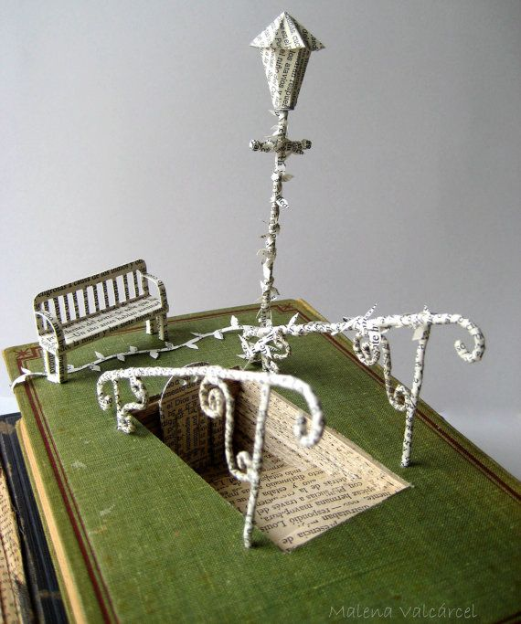 Altered Book Sculptures | Add it to your favorites to revisit it later.