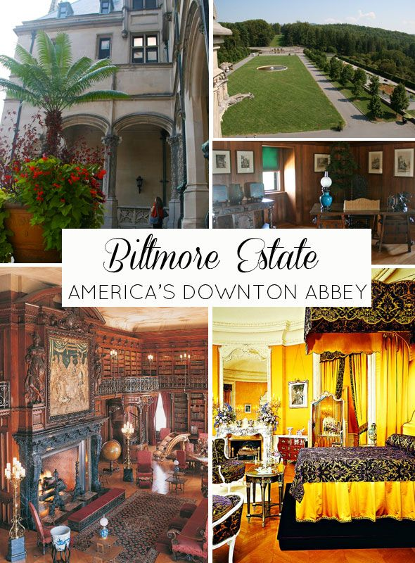 ~America's Downtown Abbey: Biltmore Estates in Asheville, NC~ I've been there and this place is absolutely amazing! So much history!