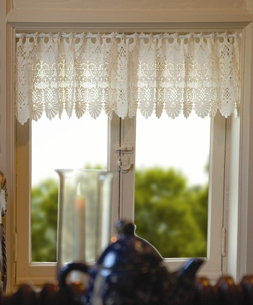 Macrame Curtains | Rembrandt Ring Lace Curtains, French Macrame Lace. Love  These