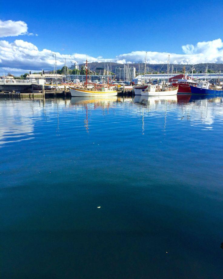 Picture of serenity at Hobart Tasmania
