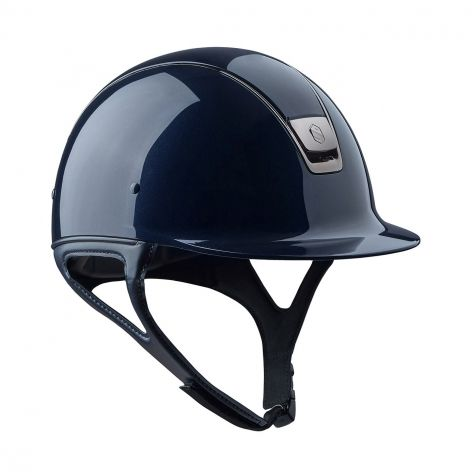 Samshield Shadowglossy Riding Hat in Metallic Blue - Page 3