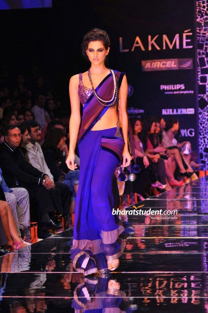 Manish Malhotra Show At Lakme Fashion Week Winter Festive 2010