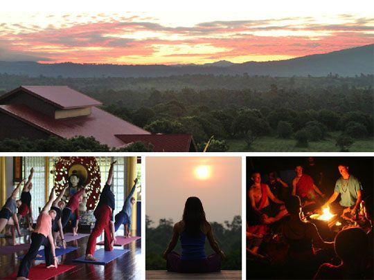 Yoga, Meditation & Holistic Therapy. really good website that lists a bunch of awesome places all over     Get in touch with your spiritual side in Thailand