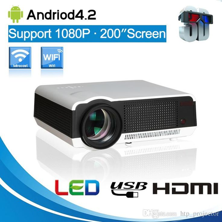 Free Gift 100'' Curtain Full HD New Android Smart Projector LCD 3D Wifi Home Thearter TV Beamer LED Projektor Proyector 1080p 5500 Lumens from Htp_projector,$257.67 | DHgate.com