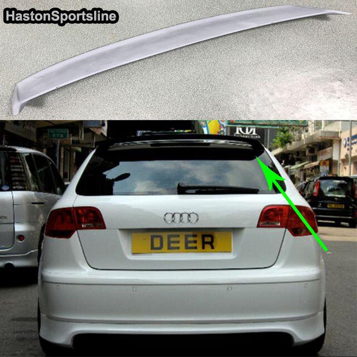 A3 8P Sportback FRP Unpainted Primer Roof lip Spoiler Wing For Audi A3 hatchback 2009~2012 #Affiliate