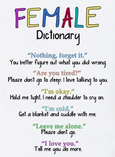 Female Dictionary:  Website, Quotes, Sotrue, Truths, So True, Funny Stuff, Things, True Stories, Female Dictionary