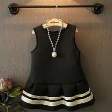 kızlar sonbahar kış resmi elbise bebek doğum elbiseler siyah lüks avrupa tarzı lolita tutu prenses(China (Mainland))