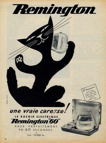 Remington (Razor) 1956 Cat