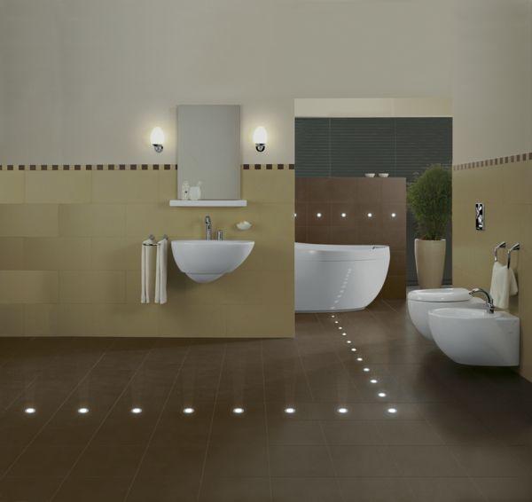Die besten 25+ Fußbodenheizung im badezimmer Ideen auf Pinterest - led einbauleuchten badezimmer