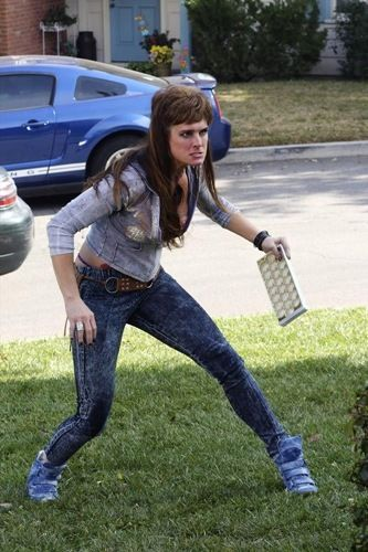 Brooke Shields as Rita Glossner: The Middle