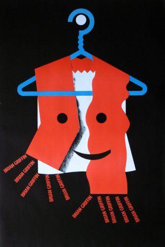 Barney Bubbles - Brian Griffi Exhibition Poster