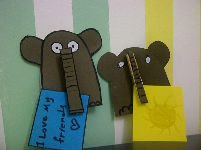Elephant Peg Holder Mister Maker Craft Etc Pinterest